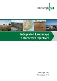 Integrated Landscape Character Objectives