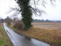 Arable land to north of river Yare with Alder carr woodland on valley sides in distance.  (© L Marsden / A Yardy)