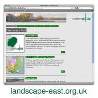 Landscape East wesbite home page